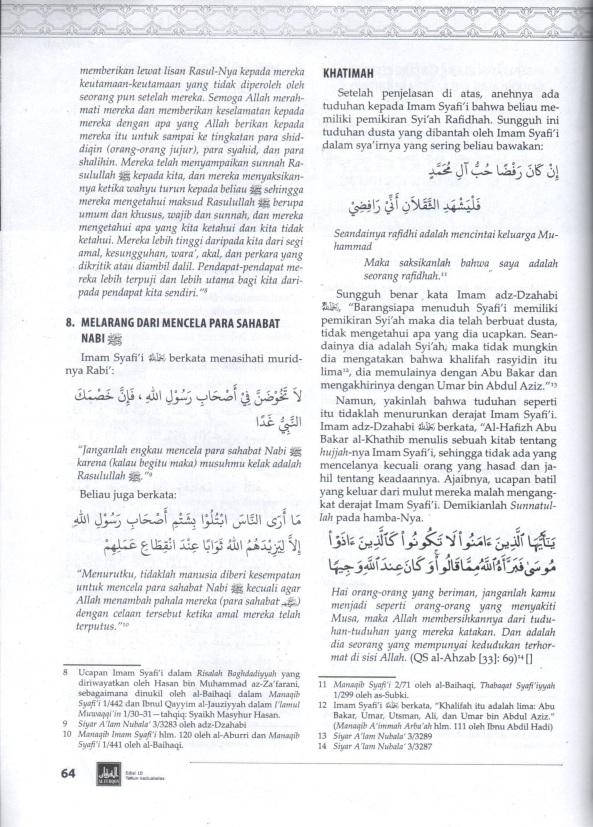Imam Syafi'i & Syiah 3